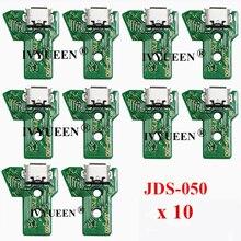 10 sztuk JDS 050 040 030 011 gniazdo portu USB do ładowania planszowa dla Sony PlayStation 4 PS4 DS4 Pro Slim ładowarka do pada płytka drukowana