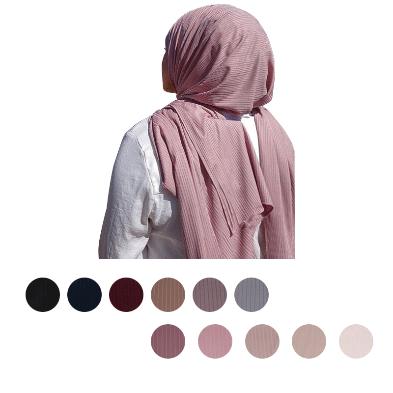 SW-Plain Kualitas Tinggi Lembut Materail Jilbab Jersey Panjang Muslim Wanita Syal Wraps Warna Solid