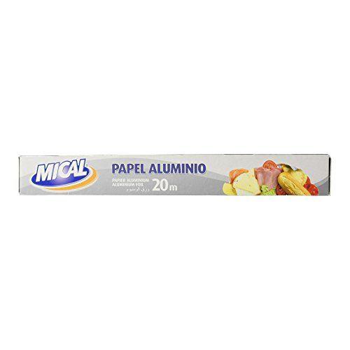 Mical - Papel Aluminio - 20 M