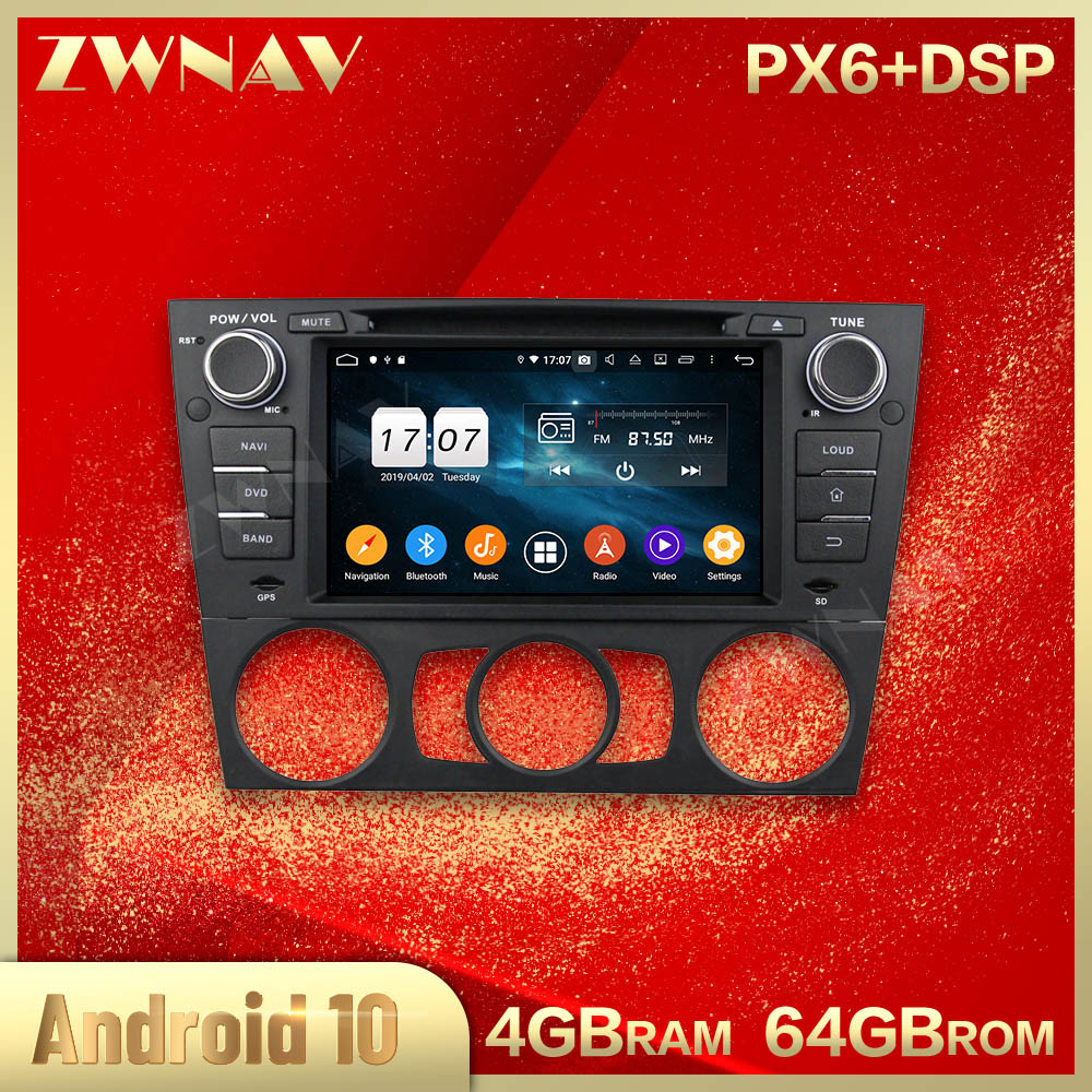 2 din Android 10.0 screen Car Multimedia player For BENZ E90 Saloon 2005-2012 Video radio stereo GPS navi head unit auto stereo image