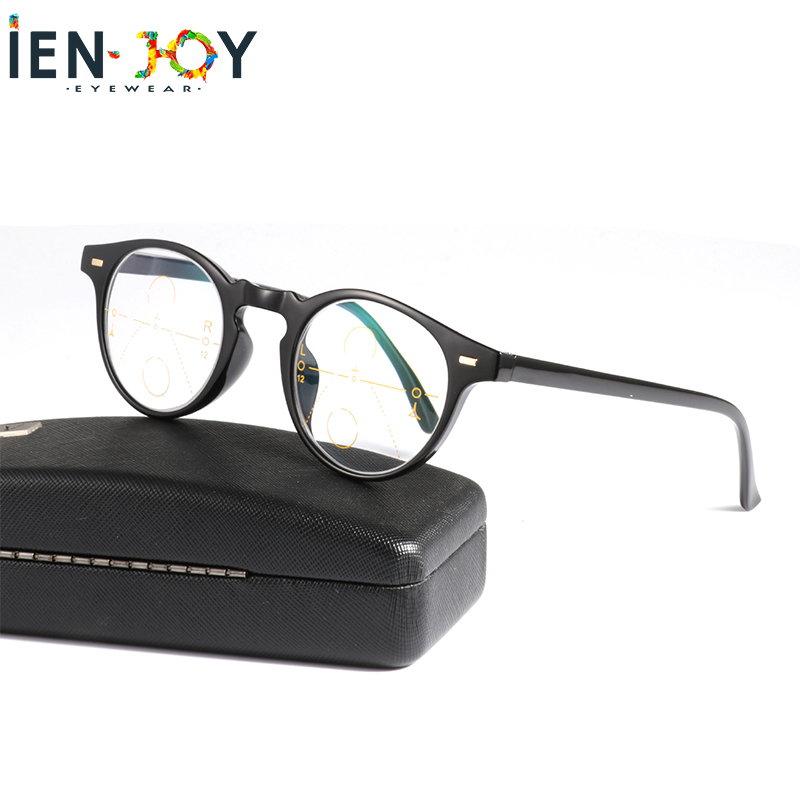 IENJOY очки для чтения Multifocal Progressive Reading Glasses Near and Dual-use Blue Light Blocking Eyeglasses