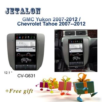 "PX6 Smart 12.1"" IPS Screen Tesla Navigation For GMC Yukon Android Car radio Chevrolet Tahoe silverado GPS video Car Multimedia"
