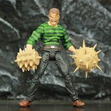 """Orijinal MS seçin Sandman William Baker 7 """"Action Figure İnanılmaz örümcek Legends kum adam elmas seçin oyuncaklar bebek model"""