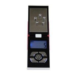 Image 4 - Nieuwe Pop Mini Pocket Elektronische Digitale Sieraden Schaal Voor Goud Sigaret Doos Weeg Balance 0.01 200G Gewichten Digitale Mini schaal