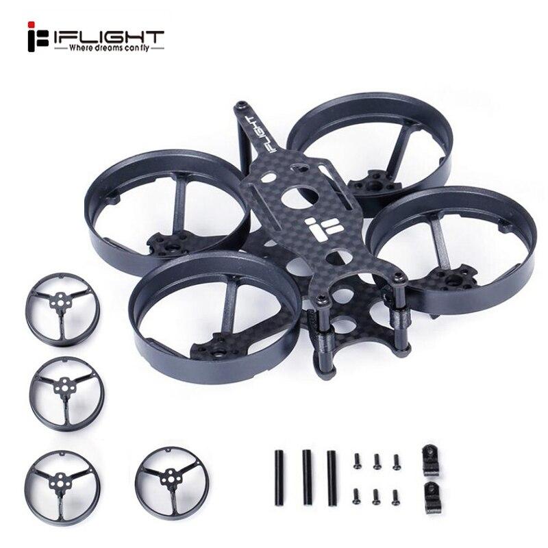 IFlight TurboBee 80mm Distância Entre Eixos FPV Quadro De Corrida Kit para RC Quadcopter Drone FPV Corrida DIY Acessórios Replacment Peças de Reposição