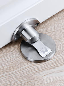 KAK Hardware Stops Catch Door-Stopper Furniture Magnetic-Door Floor Hidden 304-Stainless-Steel