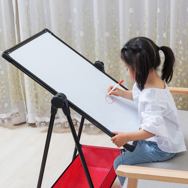 7-Year-Old Infant Child Young STUDENT'S Small Drawing Board Whiteboard Magnetic Small Blackboard Braced Vertical Type Family 6 H