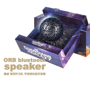 Image 2 - מארוול של מקורי שומרי Galaxy Creative מתנה קוסמי תחום נטענת בס Bluetooth רמקול