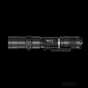 Image 5 - Светодиодный фонарик NITECORE 1000 люмен MH12 MH12W, перезаряжаемый, с аккумулятором 18650