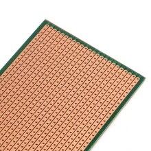 2021 New 5 Pcs 6.5x14.5cm Stripboard Veroboard Uncut PCB Platine Single Side Circuit Board