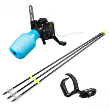 Bow Fishing Kit with Fish Rope&Fish Arrow& Arrow Rest Compound/Recurve Bow Fishing Tackle Shooting Accessories
