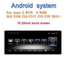 """10,2"""" Android 9,0 автомобильный мультимедийный плеер для Mercedes benz класс W176 G класс W460 GLA X156 CLA C117 CLS C18"""