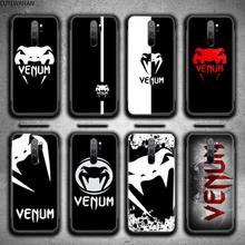 Design del marchio custodia per telefono venum per Redmi 9A 9 8A 7 6 6A nota 9 8 8T Pro Max K20 K30 Pro