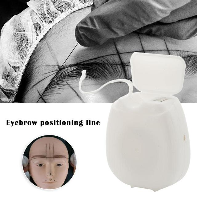 Pre-Inked Brow Mapping Strings pigment string for Microblading  Accessories Brow Mapping Thread For Eyebrow Permanent Makeup 4