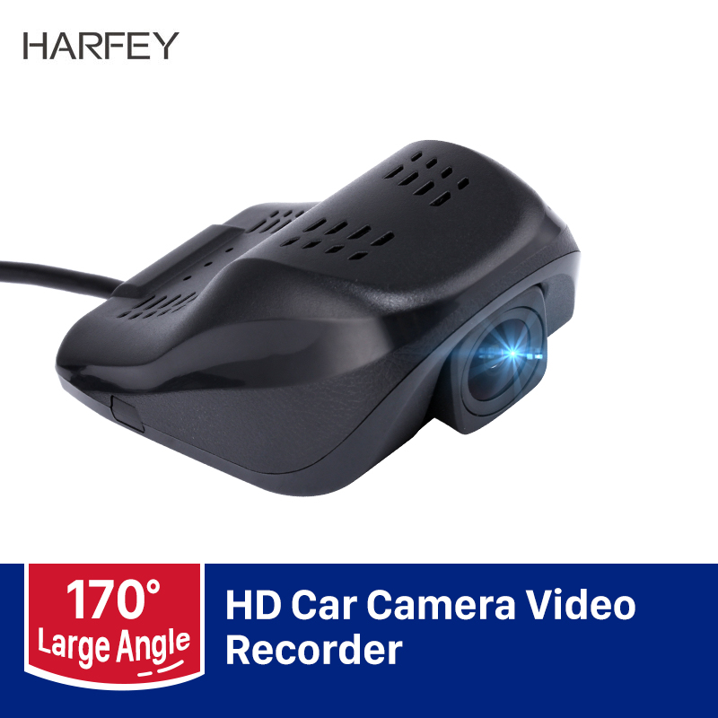 Harfey HD 1920x1080P Night Vision USB DVR Camera Video Recorder For Seicane Car GPS Stereo Head Unit Radio DVD Player