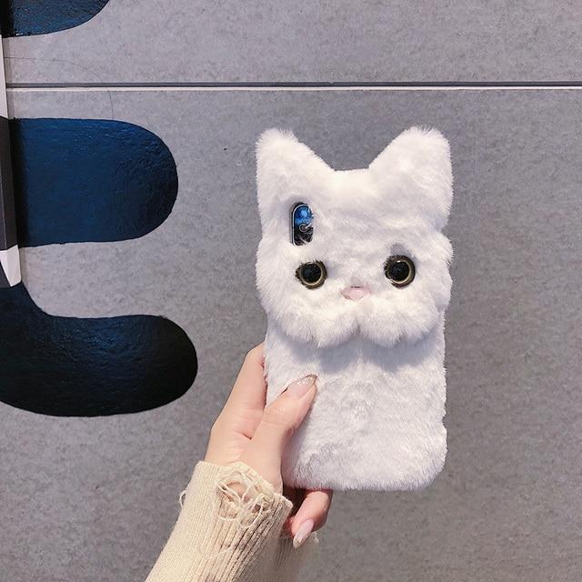 furry cat phone case