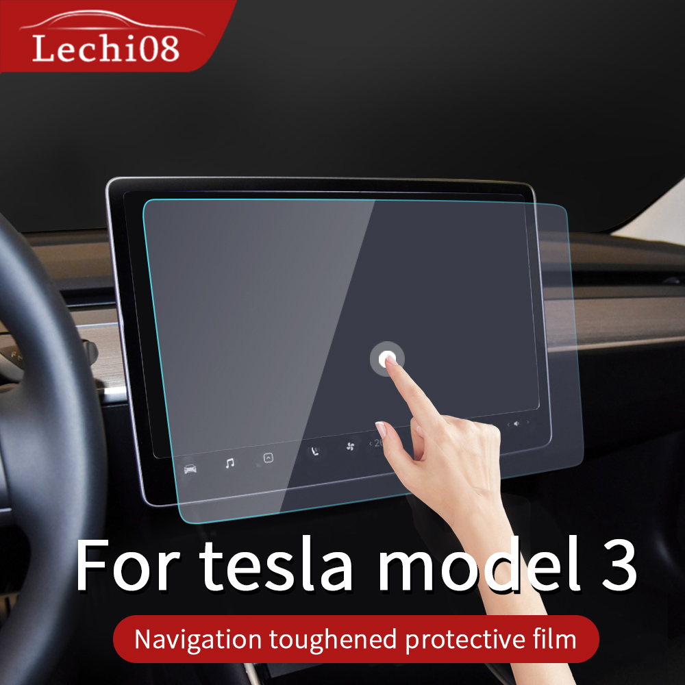 Navigation Tempered Film For  Tesla Model 3 Screen Protector Tesla Model 3 Accessories/car Accessories Tesla Three Model3