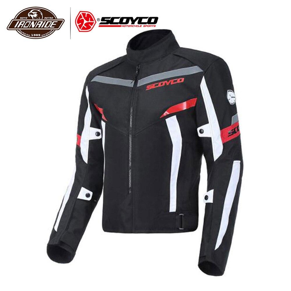 Clearance SCOYCO Motorcycle Jacket Men Chaqueta Moto Waterproof Moto Jaqueta Reflective Motocross Jacket Moto Riding Jacket#
