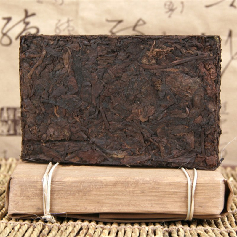 The Oldest Puer Tea Chinese Yunnan Old Ripe Puer 250g China Tea Health Care Pu'er Tea Brick Puerh For Weight Lose Tea
