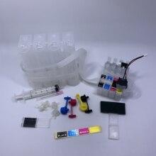 YOTAT BK\C\M\Y CISS T1631 T1632 T1633 T1634 ink cartridge for Epson WF-2650 WF-2660 WF-2750 WF-2760 цена и фото