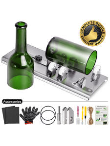 Bottle-Cutter Gloves Glasses Whiskey Craft Diy-Machine Champagne Cutting Wine Beer Alcohol