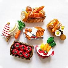 Японские 3d Смола моделирование холодильник для пищи Магнитный