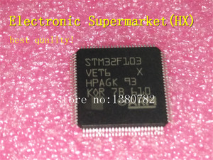 Image 1 - Free Shipping 10pcs/lots STM32F103VET6 QFP 100 New original IC In stock!