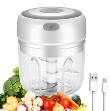 100/250ml Wireless Electric Mini Food Chopper Garlic Cutter Masher USB Charging Kitchen Gadgets