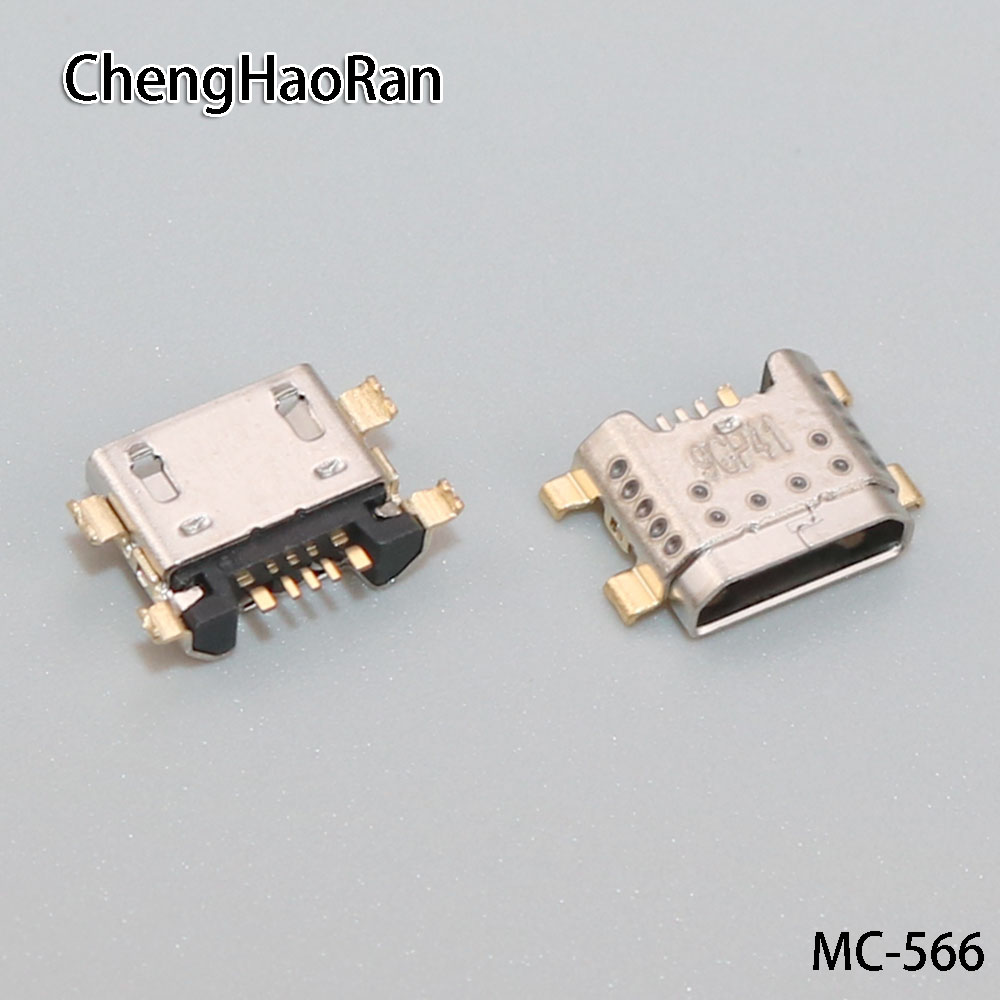 2PCS/lot Micro USB Jack Socket Charging Port Connector For Vivo Xplay6 Y71 Y75 Y79 Y81S Y83 Y85 Y91 Y93 Y97 X21S S1 U1 V1S Etc