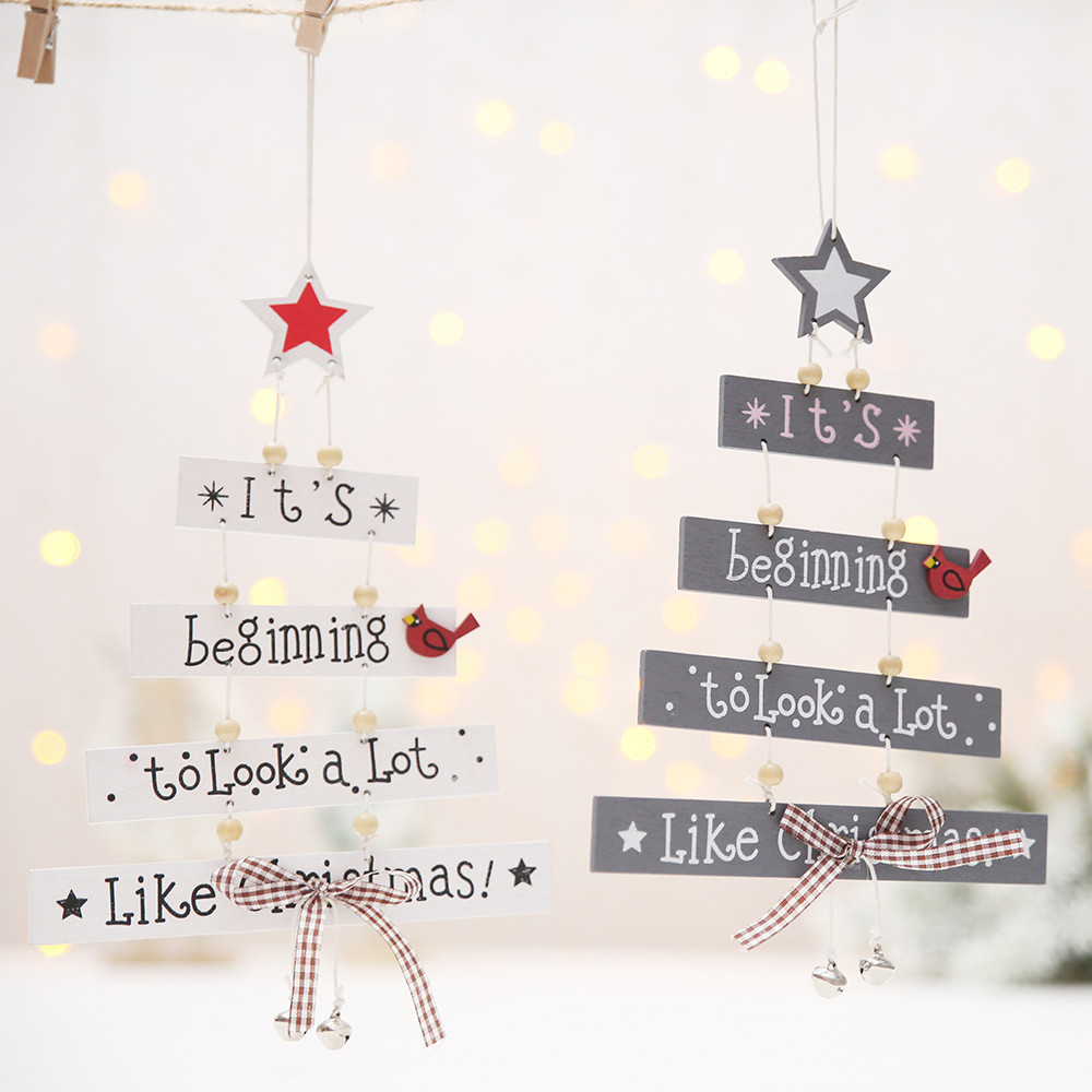 Christmas Decorations Tree Ornament Patterned Hanging Accessories Supplies christmas decorations for home Hot