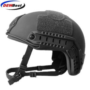 Image 1 - ISO Certified DEWBest bullet proof brand NIJ Level IIIA FAST High Cut Bulletproof Aramid Ballistic Helmet With 8Yrs Warranty
