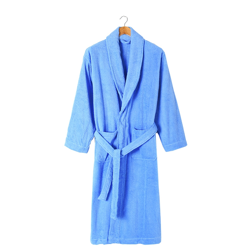 Winter Bathrobe Thickening Warm 100% Cotton Bathrobe Men Dressing Gown Towel Fleece Bath Robe Male Sleepwear Nightgown Homme