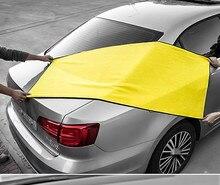 Büyük mikrofiber havlu araba oto yıkama havlu temizleme kurutma bezi Hemming araç bakım bezi detaylandırma kapı pencere için