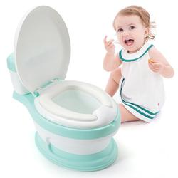 New upgrade 3 in 1 Kids Toddler Potty Toilet Training Seat Step Stool with Splash Guard