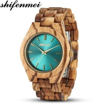 Shifenmei Women Watches Wood Quality Relogio Feminino Fashion Wristwatch Ladies zegarek meski Design Christmas Gift - discount item  40% OFF Women's Watches