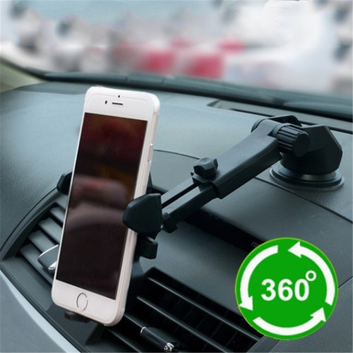 Universal Suction Cup Car Phone Holder Auto Vehicle Dashboard Windshield Stand Bracket Support for Mobile Interior Accessories