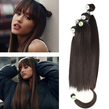 Weaving-Bundles Bangs Synthetic X-TRESS Hair Straight for Women Extensions Unprocessed-Wig