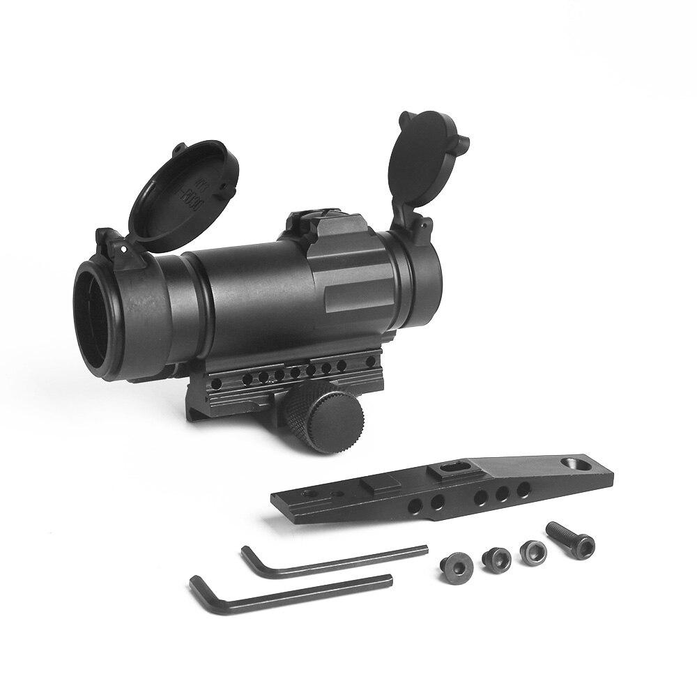 LUGER M4 kolimator Red Dot do 20mm szyny karabin Airsoft Tactical Red Dot zakres na zewnątrz optyka myśliwska Sight luneta