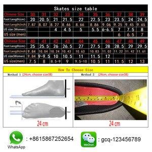 Image 5 - ISPORTS 속도 인라인 스케이트 탄소 섬유 경쟁 스케이트 3*125mm 또는 4*100/110mm 스트리트 레이싱 스케이트 Patines 롤러 블레이드 SH56