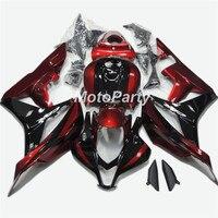 Motorcycle Black Red Injection Bodywork Fairing kit For Honda CBR600RR CBR 600RR F5 2007 2008 CBR 600 RR CBR600 RR Fairings