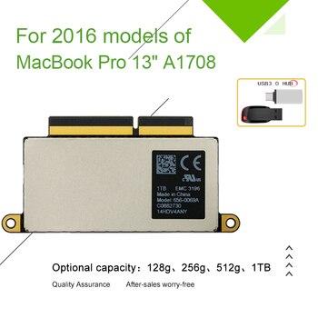 "A1708 Laptop SSD 128GB 256GB 512GB 1TB for Macbook Pro Retina 13.3"" 2016  Year 1708 Solid State Disk PCI-E EMC 3164 EMC 2978"