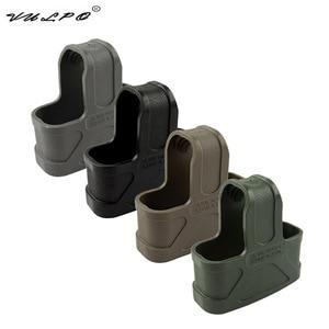 Image 1 - VULPO 10pcs/NATO 5.56 Rubber Cage Loops Fast Mag For M4/M16 Magazine Assist BK/DE/Green/Gary
