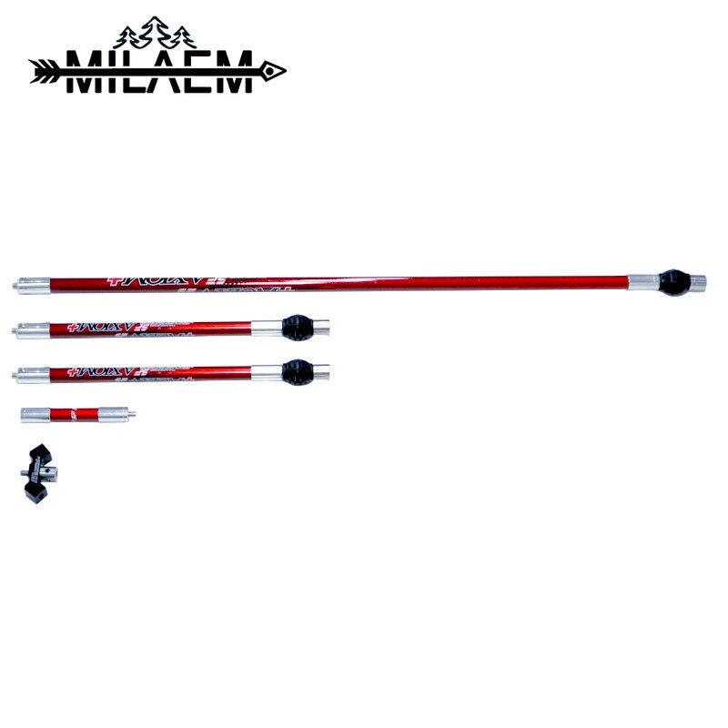 Стабилизатор для стрельбы из лука, стабилизатор уровня углерода, 1 комплект