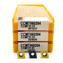Carbide-Tool Ccmt060204 Ue6020 Metal 060204-Turning-Tool CNC VP15TF