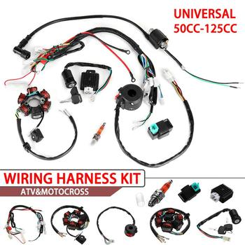 50cc 70cc 90cc 110cc 125cc Dirt Bike ATV QUAD ELECTRICS Zongshen Lifan Ducar Razor CDI Wire Harness Stator Assembly Wiring - discount item  30% OFF Car Lights