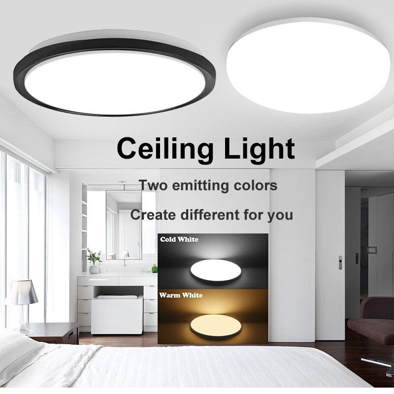 Led Ceiling Lights Modern LED Ceiling Lamp Light 220V 15W 20W 30W 50W Cold Warm White Led Ceiling Lights Modern LED Ceiling Lamp Light 220V 15W 20W 30W 50W Cold Warm White  Lighting Surface Mounted For Home Kitchen