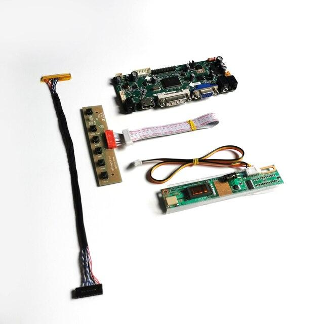 """สำหรับB154EW02 V0 V1 HDMI DVI VGA LCD Monitorแผง1280*800 15.4 """"M.NT68676คอนโทรลเลอร์การ์ดLVDS 30Pin CCFL DIYชุด"""