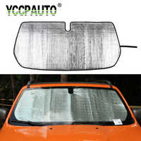 YCCPAUTO 1Pcs Auto Accessories Car Front Windshield SunShade For Jeep Renegade 2016+ Window Sun Shield Protective Cover