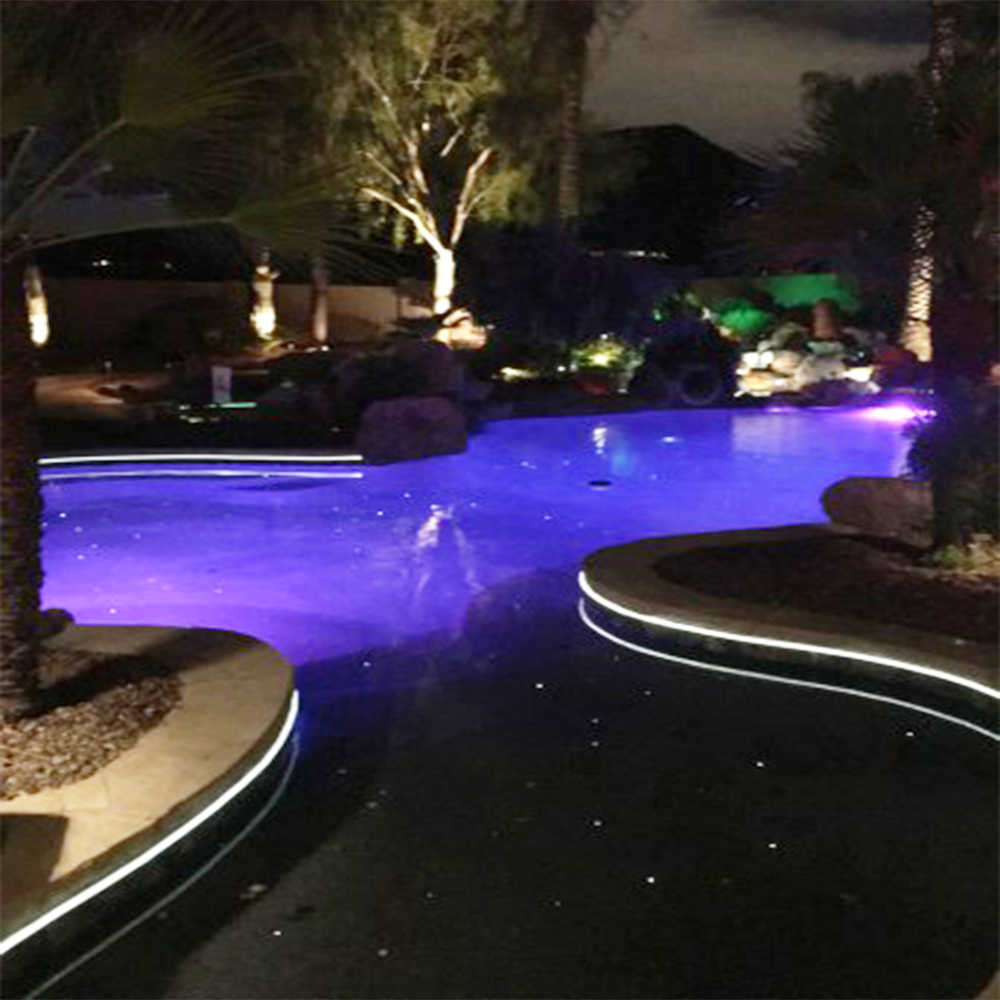 Swimming Pool Decoration With 80w Led Emitter Solid Core 8mm Side Glow Fiber Optic Cable 20m Length Pool Decorations Side Glow Fiber Opticswimming Pool Decorations Aliexpress