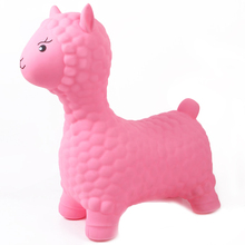 Toys Bouncing-Toys Lama Jumping Kids Alpaca Sheep Pink Inflatable Children